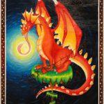 月を食べるドラゴンの話